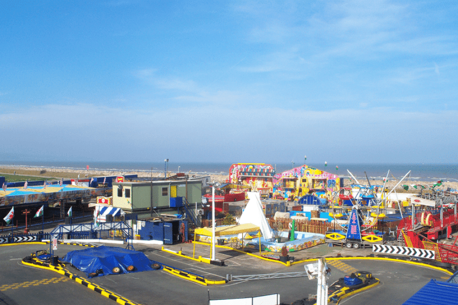 The Ultimate List of Things to do in Conwy, North Wales - Knightlys Fun Park, Sandbank Road, Towyn, Abergele, Conwy LL22 9LD