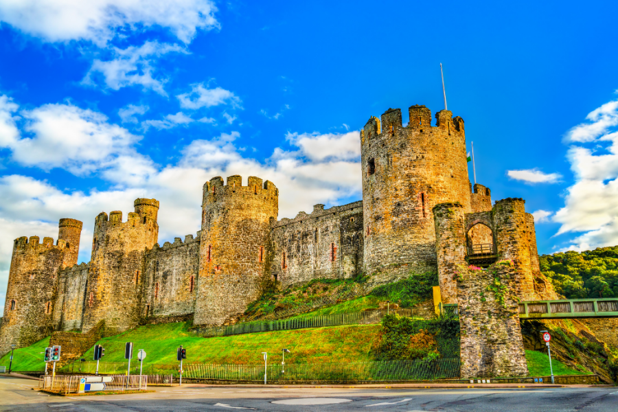 The Ultimate List of Things to do in Conwy North Wales - Conwy Castle, Rosen Hill Street, Conwy LL32 8AY
