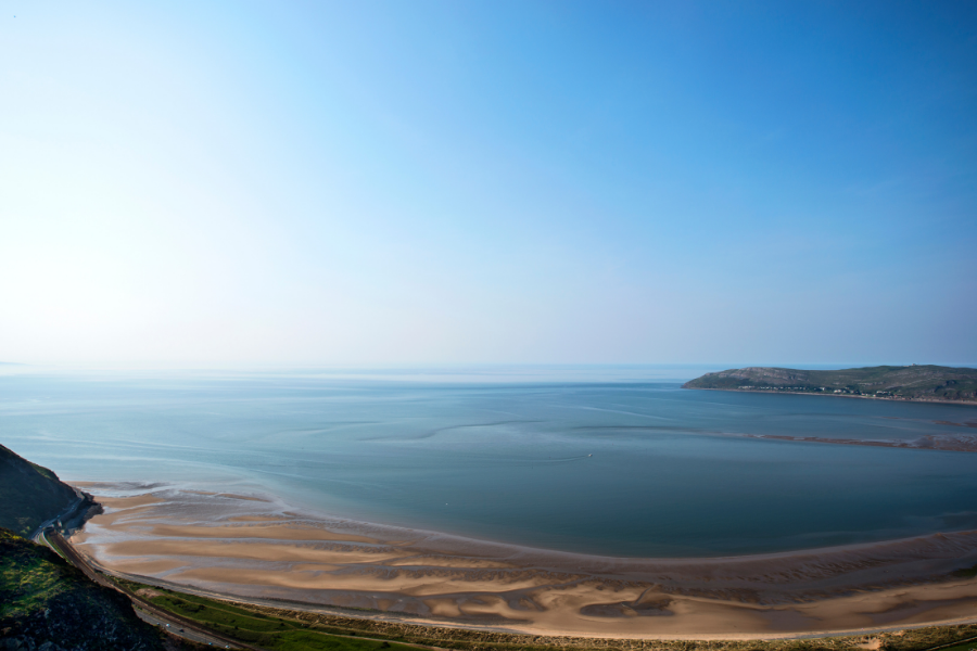 The Ultimate List of Things to do in Conwy, North Wales - Conwy Morfa Beach